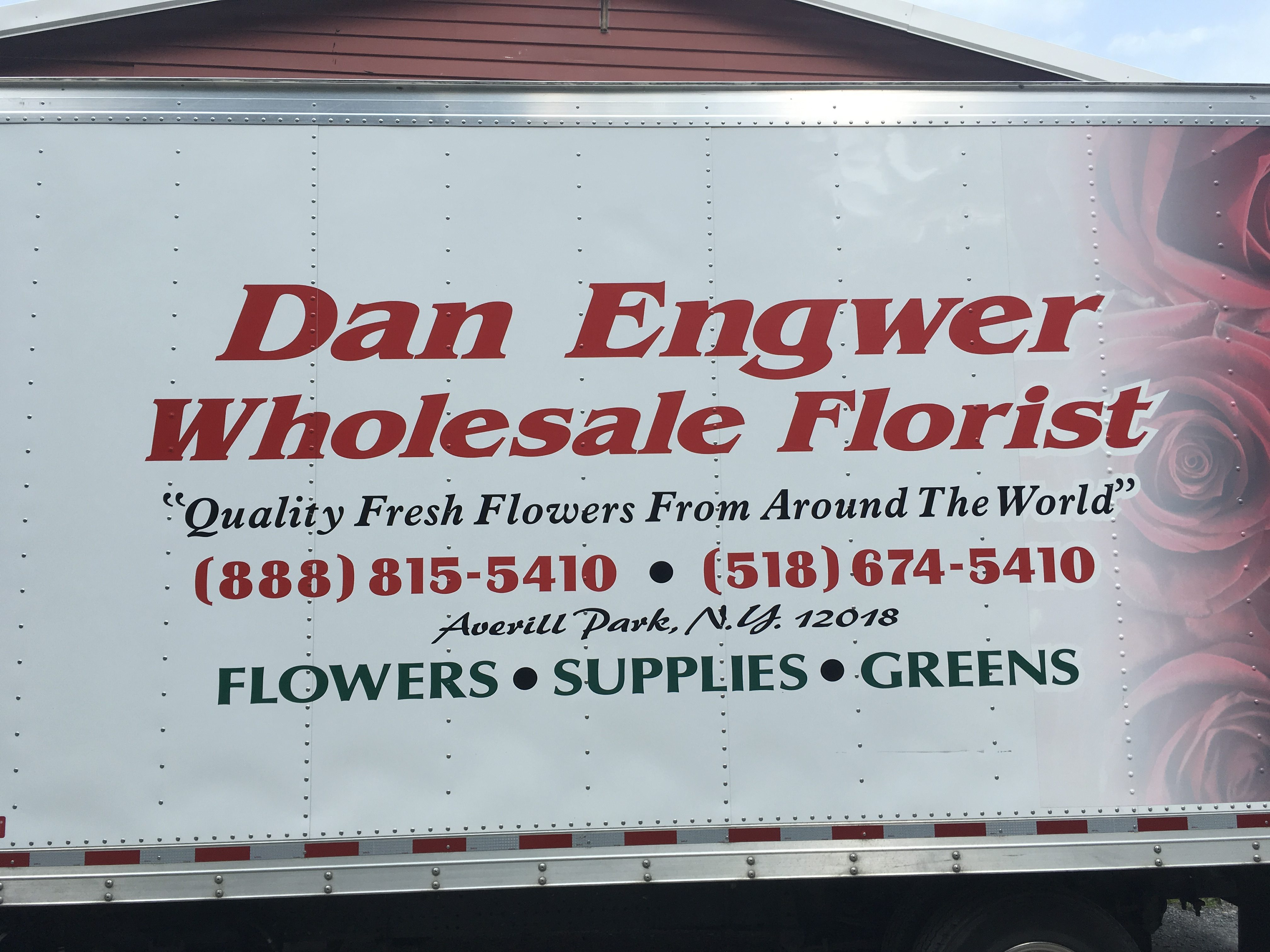 Dan-Engwer-Wholesale-Florist Truck Signage